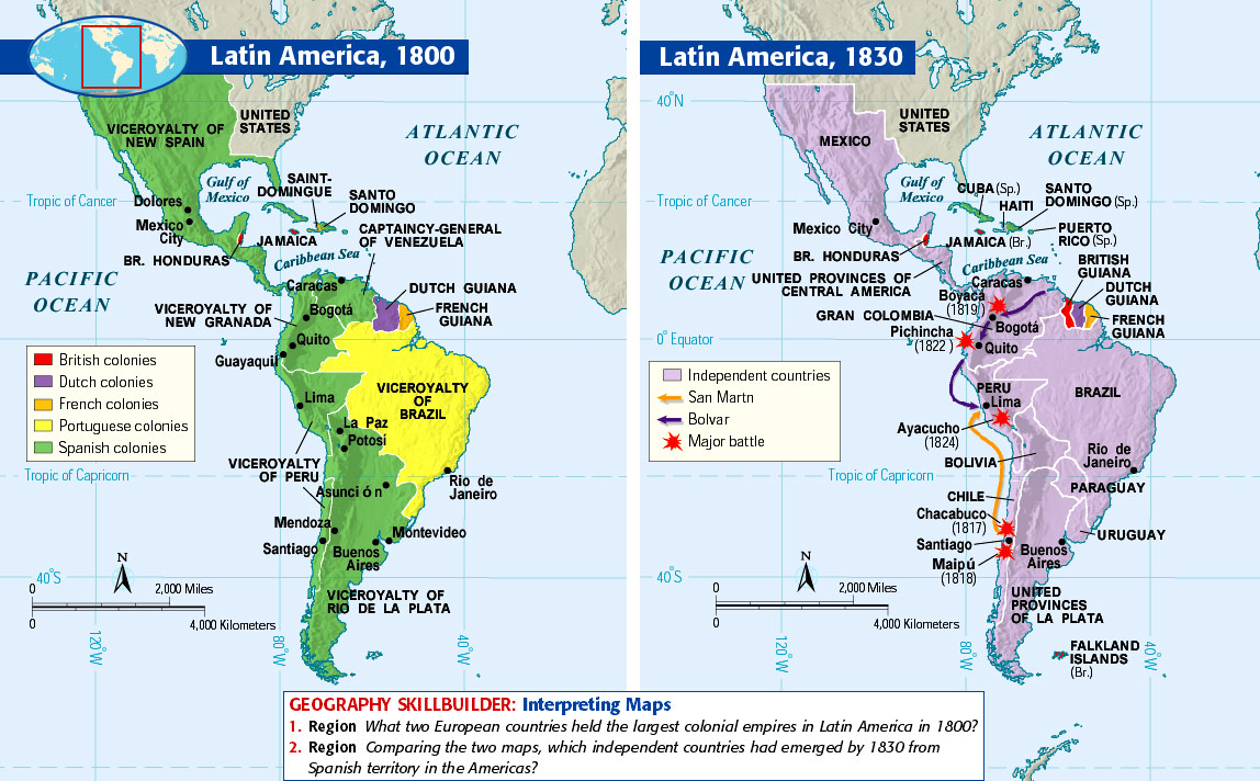Setting the scene and the building of South America -Introduction