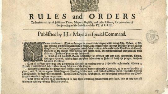 Shut up: Quarantine and social distancing during Tudor epidemics